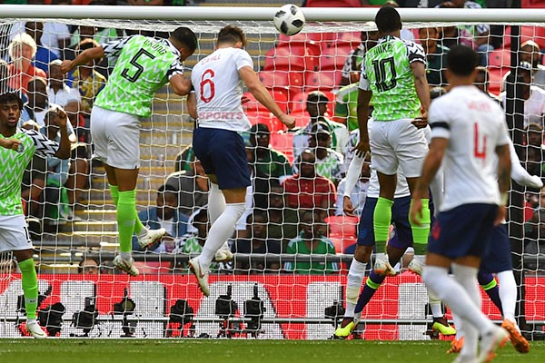 Super Eagles Pay For Sloppy Start In Defeat To England