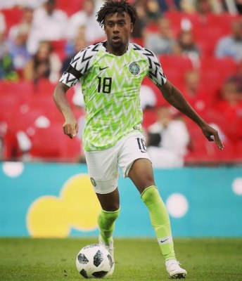 Iwobi Grateful To Fans, Eager For Great Results In Russia Despite Defeat To England