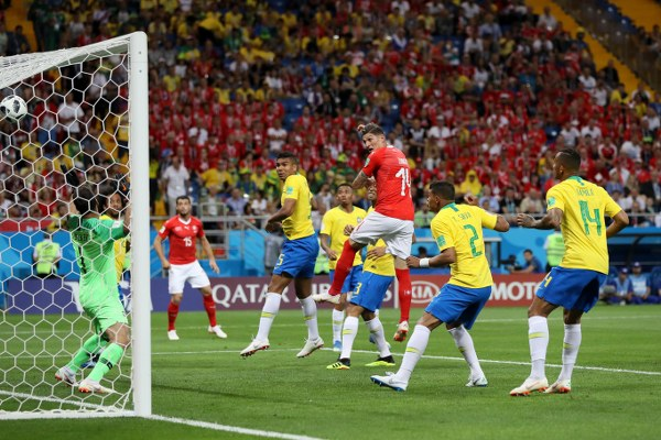 Russia 2018: Stubborn Switzerland Peg Back Favourites Brazil