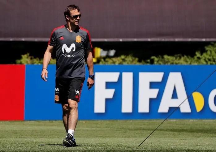 SHOCKER! Spain Sack Coach Lopetegui Days To World Cup