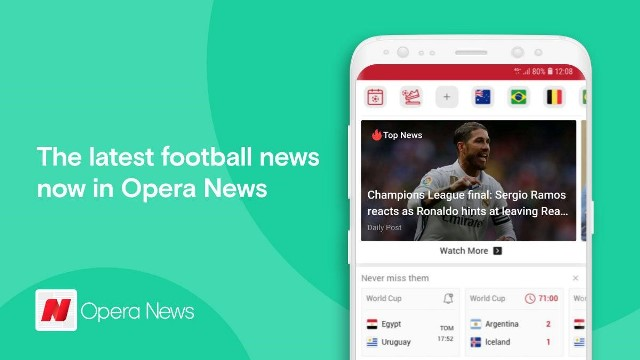 Opera News Is Shaking Things Up For The World Cup