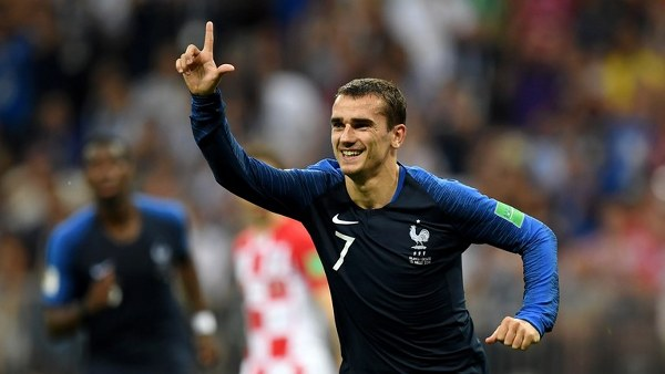 Griezmann Voted Man Of The Match In France Win Vs Croatia