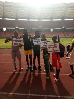 Track & Field Championships Disrupted  As Athletes Call For Removal Of AFN Technical Director Adeleye