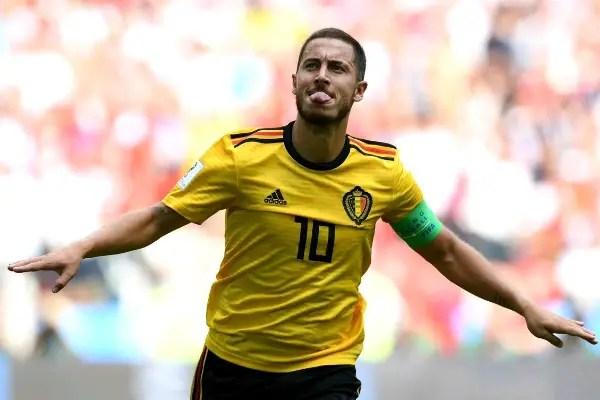 Hazard Voted Man Of The Match In Belgium Win Vs England