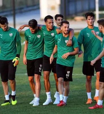 Ekong Feels Good To Be Back In  Bursaspor Training Ahead New Season