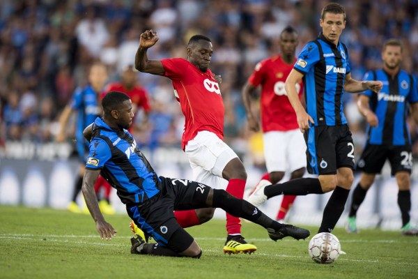 Agbo In Action As Standard Liege Lose Belgian Super Super Cup To Club Brugge