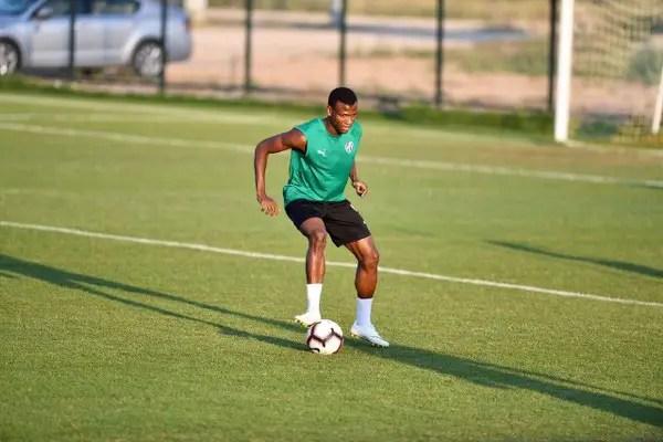 Abdullahi Happy To Join Bursaspor's Pre-season Programme After World Cup Break