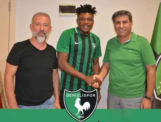 Gbolahan Salami Joins Turkish Club Denizlispor On One-Year Contract