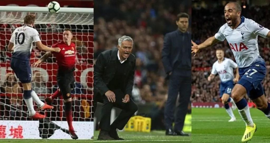 Moura's Brace, Kane's Header Devastating As Rampant Spurs Destroy United At Old Trafford