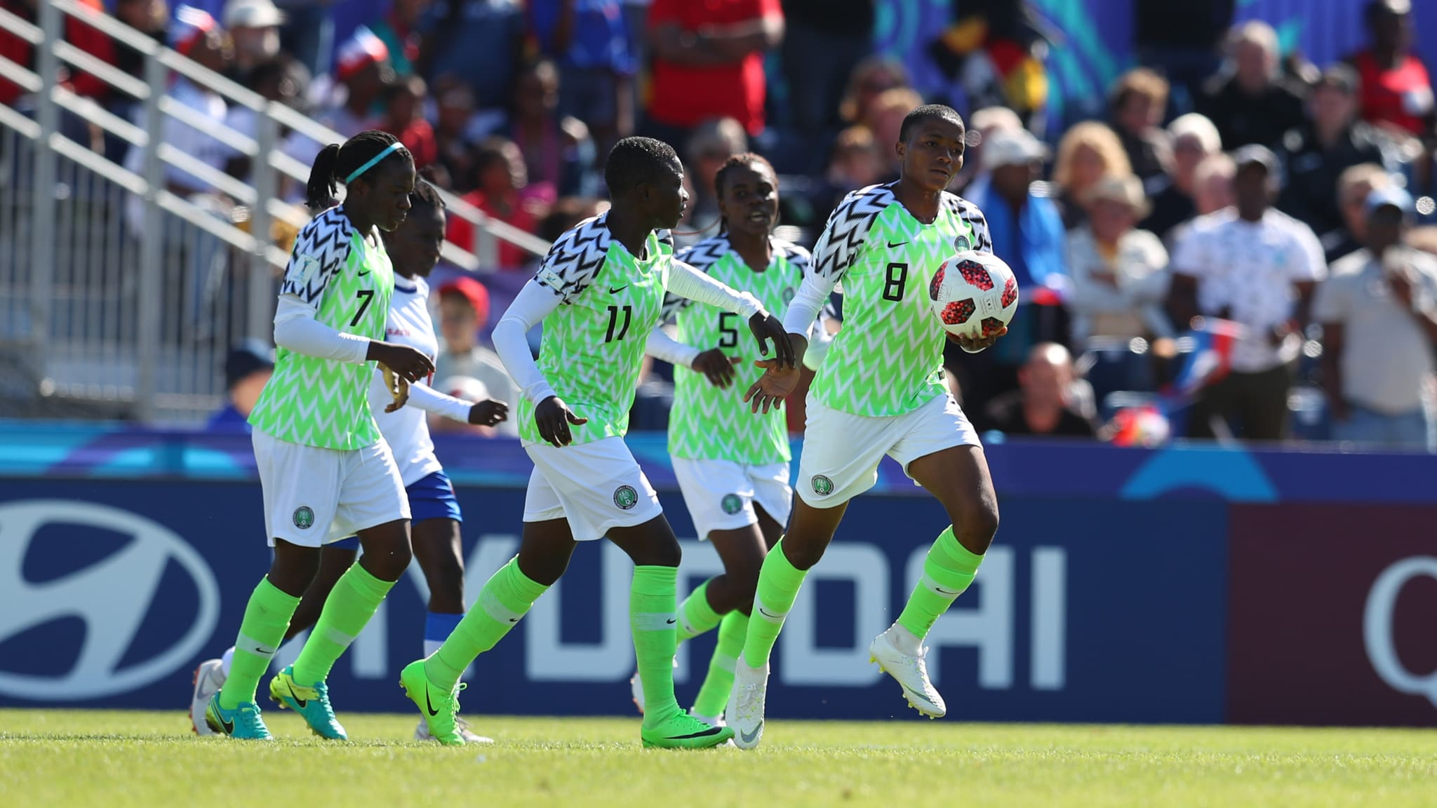 U-20 WW/Cup: Ajibade's Goal Ousts Haiti, Revives Falconets' Q-Finals Hopes