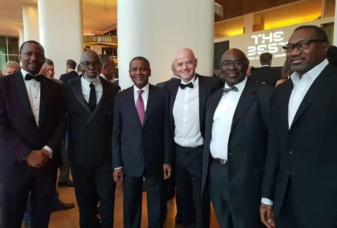 Why Business Moguls Dangote, Otedola Graced FIFA The Best Awards Ceremony