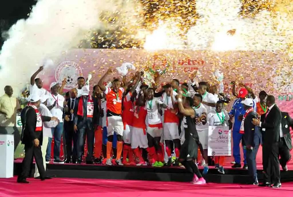 2018 Men's NFF Aiteo Cup: Enyimba, Plateau Utd, MFM, Pillars Get Tricky Away Ties
