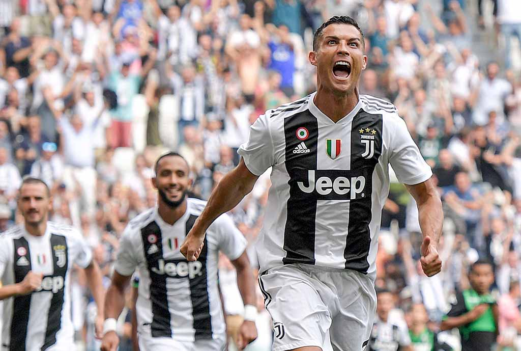 Ronaldo Ends Juve Goal Drought With Brace In Win Vs Sassuolo