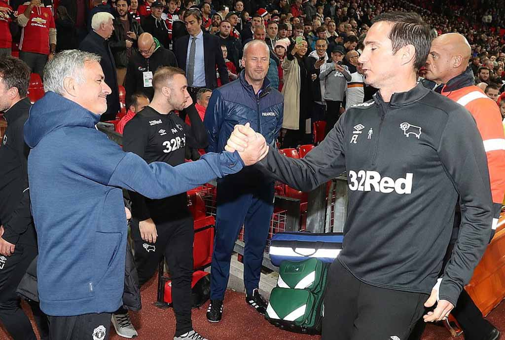 Carabao Cup: Derby Boss Lampard Savours Surprise Win Over Man United