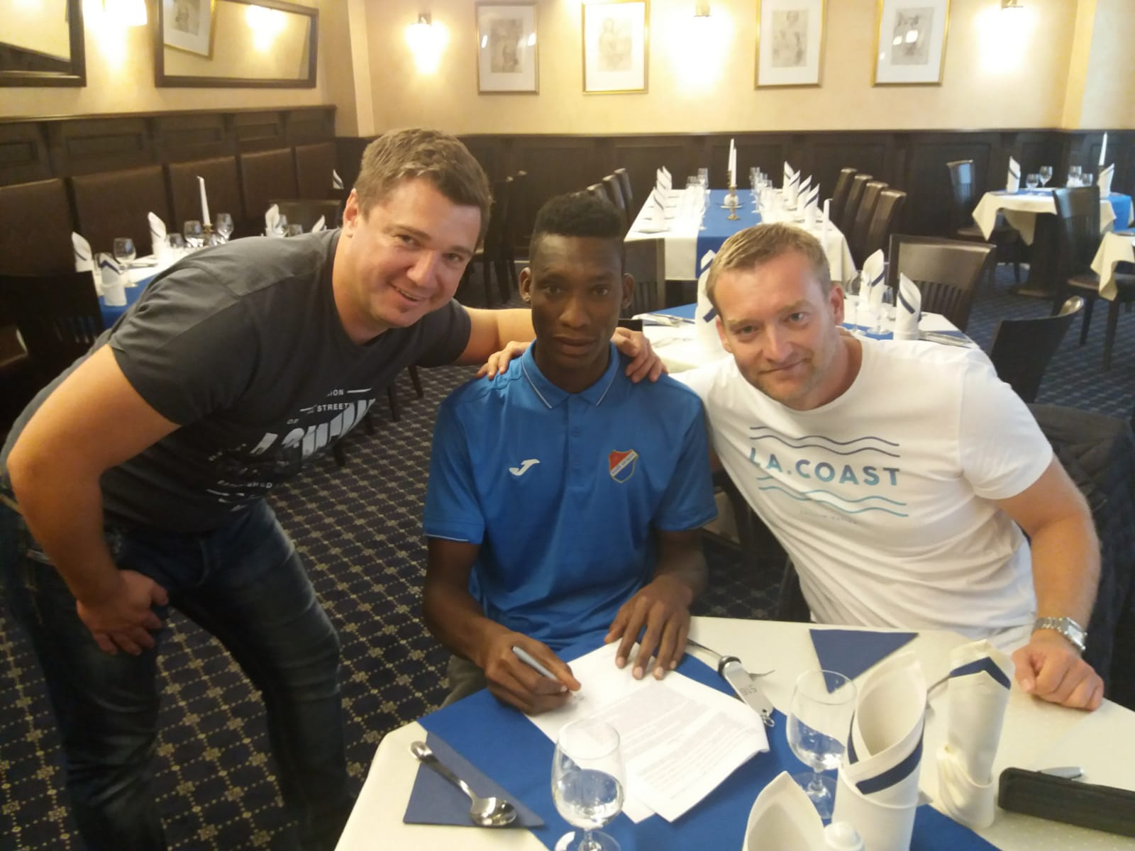 Flying Eagles Striker Muhammed Joins Czech Club Ostrava From 36 Lion