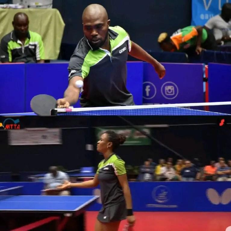 2018 ITTF Africa: Toriola, Oshonaike Beat Egypt's Pair To Reach Mixed Doubles Final