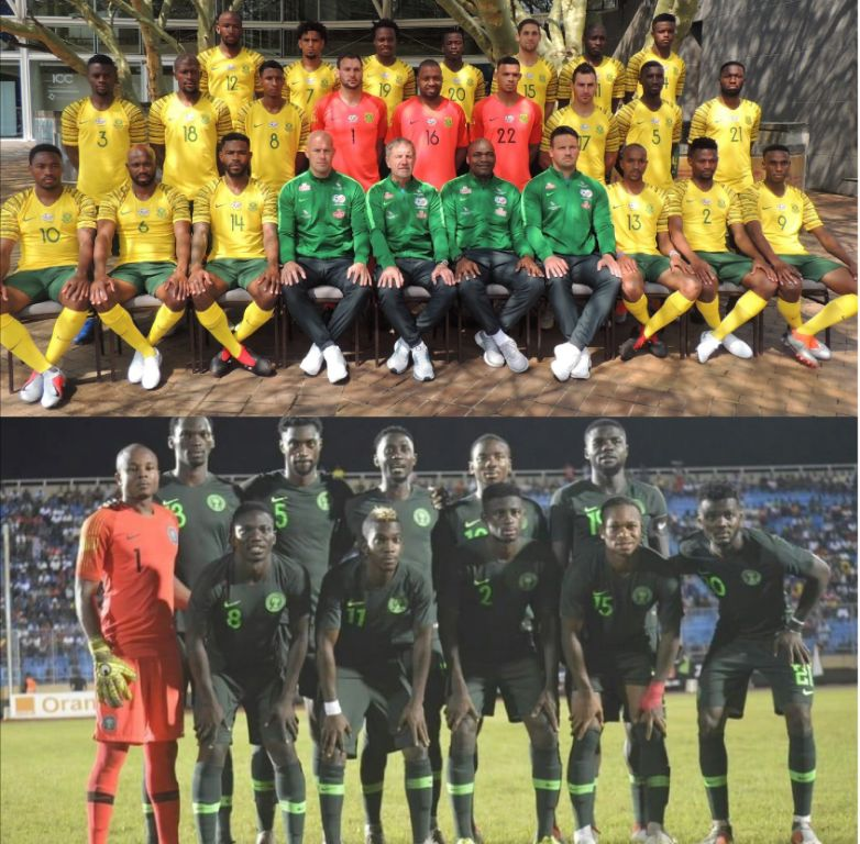 2019 AFCON: Bafana Bafana Host Super Eagles At FBN Stadium November 17