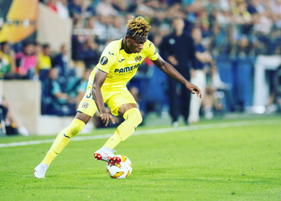 Chukwueze Happy To Make Villarreal Debut In Europa League Clash Vs Rangers