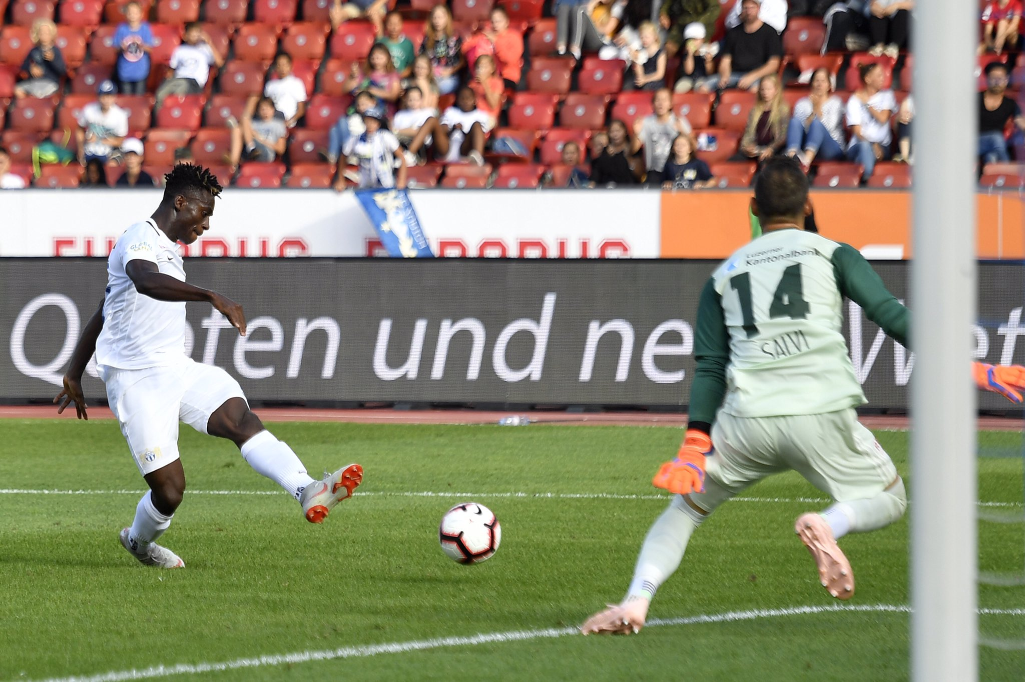 Odey Nets 5th Goal In 8th Game As FC Zurich Pip Luzern