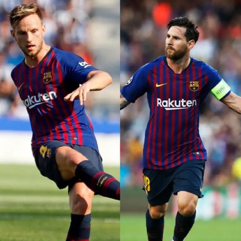 Rakitic Wants More Messi's Goals  After Hat Trick For Barca Vs PSV