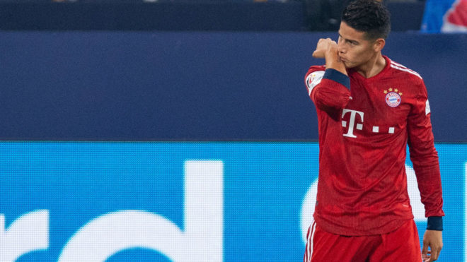 Bayern Set To Wrap Up Rodriguez Deal