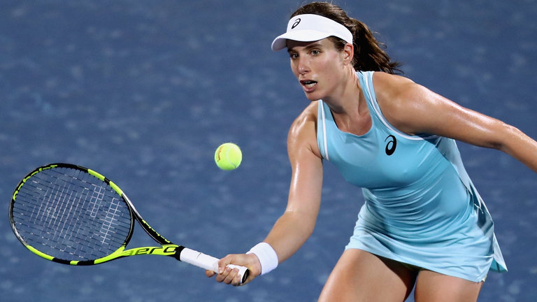 Konta's Woes Continue