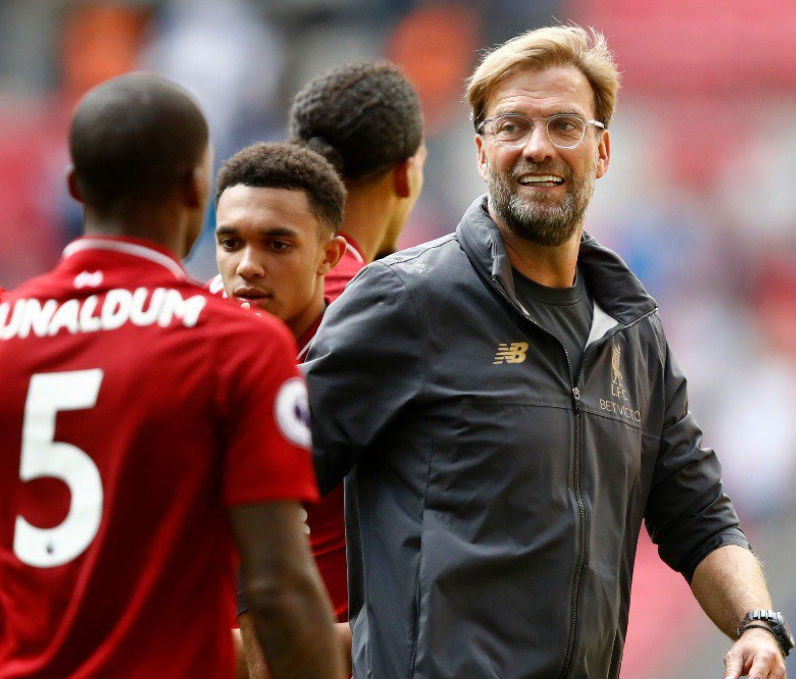Klopp Hails 'Very Very Good Dominant' Liverpool Win Over Tottenham