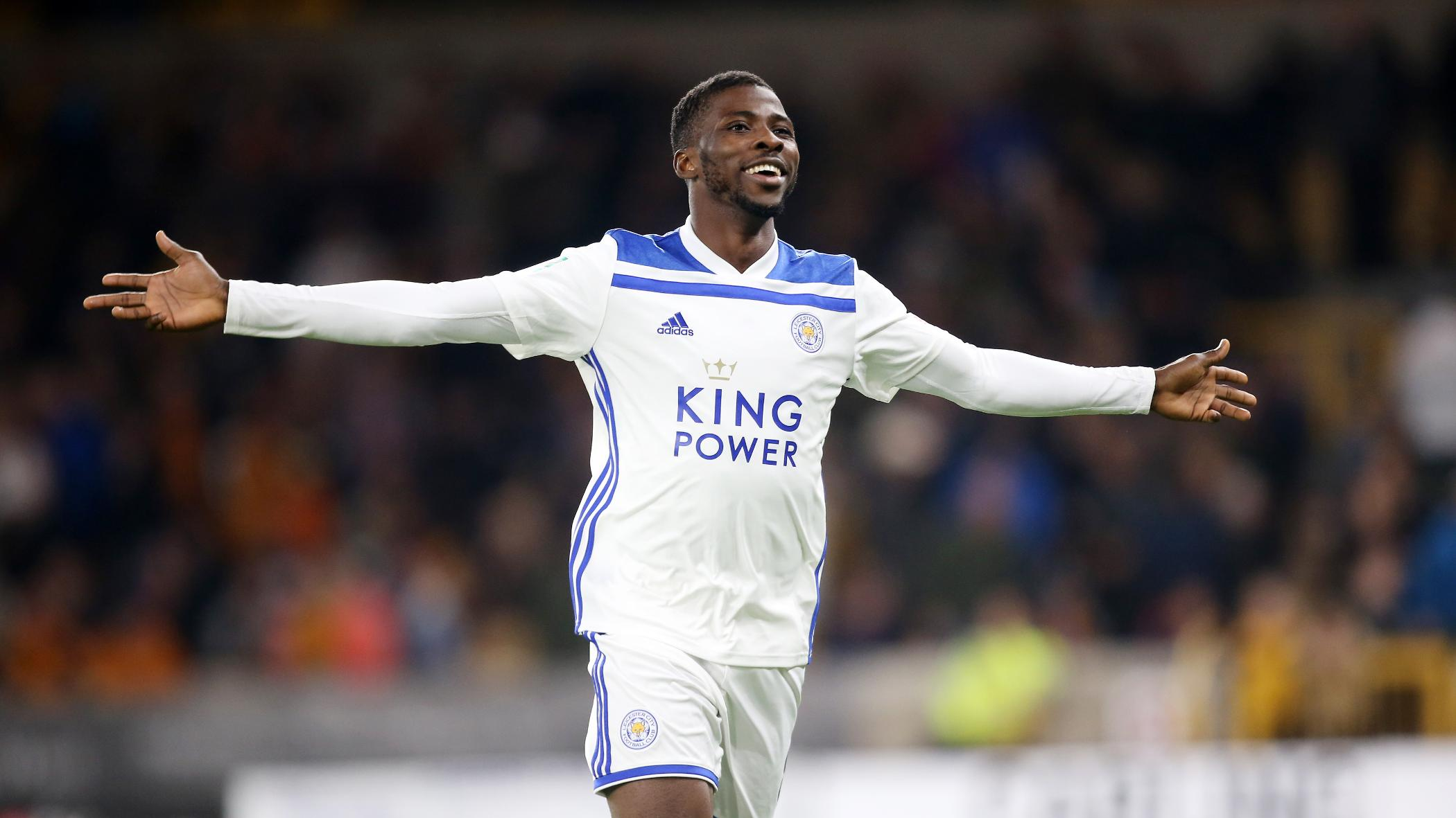 Carabao Cup: Iheanacho Celebrates Leicester Win Vs Wolves, Thanks Foxes' Fans