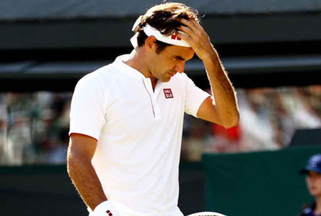 Federer Out Of US Open