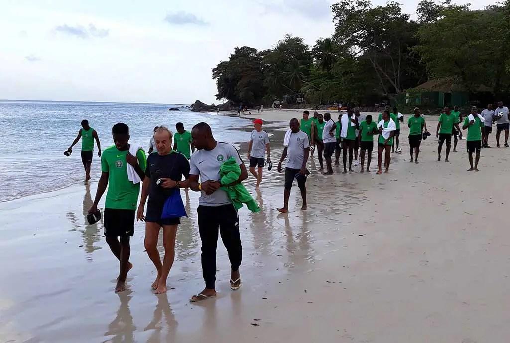 Injured Abdullahi Wishes Super Eagles Mates Best Of Luck Vs Seychelles