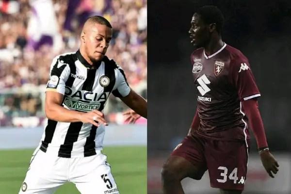 Ekong, Aina Return As Torino Hold Udinese