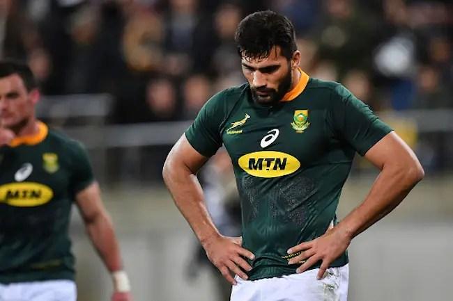 Boks Lose Trio For Rugby Championship Conclusion