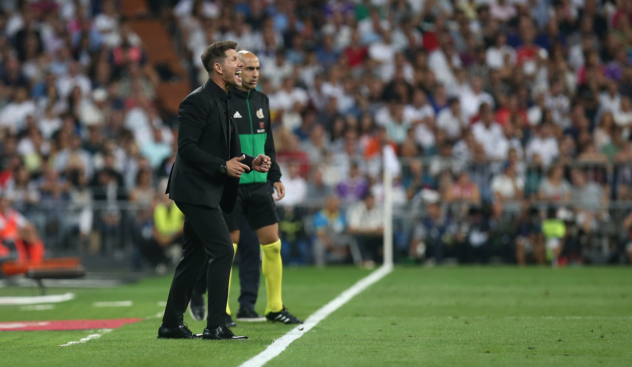 Simeone Unhappy With Key Penalty Decision In Atleti Draw At Real Madrid