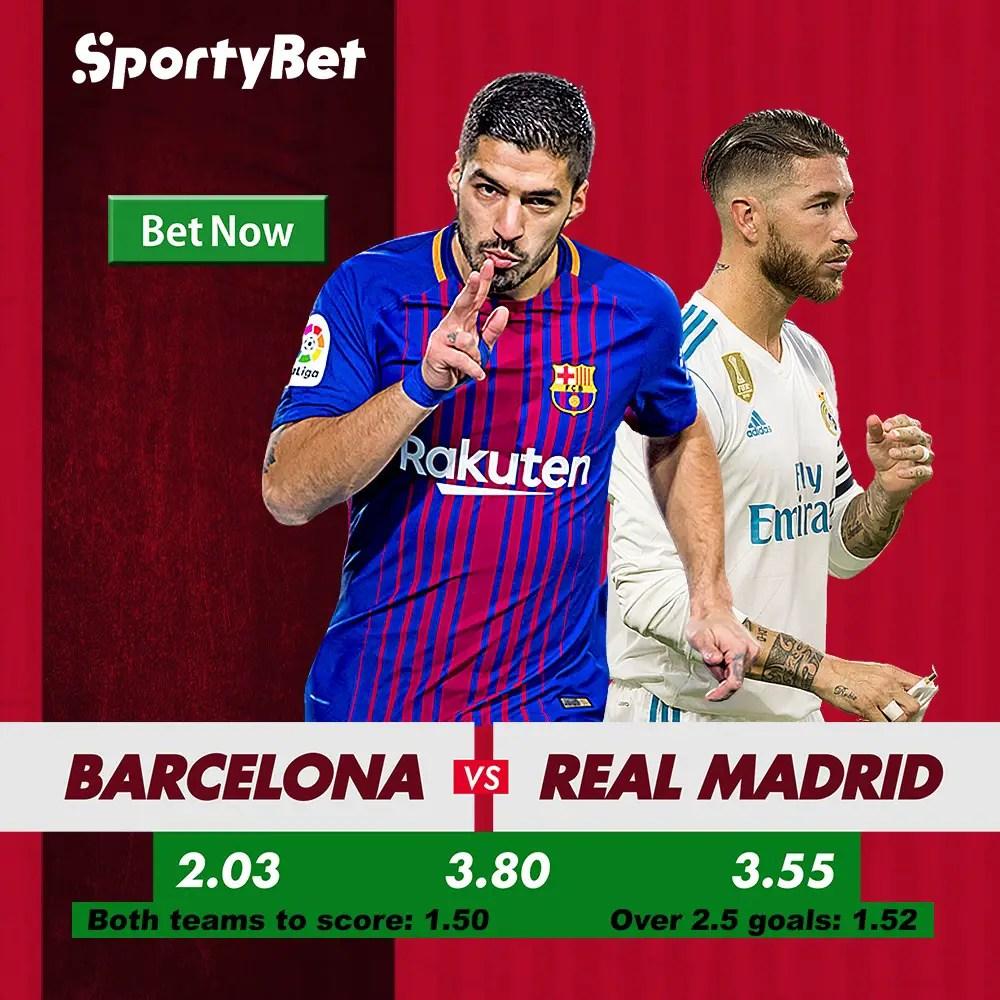 El Clasico: Barcelona vs Real Madrid Betting Preview
