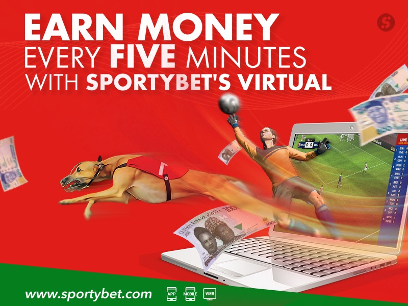 Earn Money Every Five Minutes With SportyBet's Virtual - Complete Sports