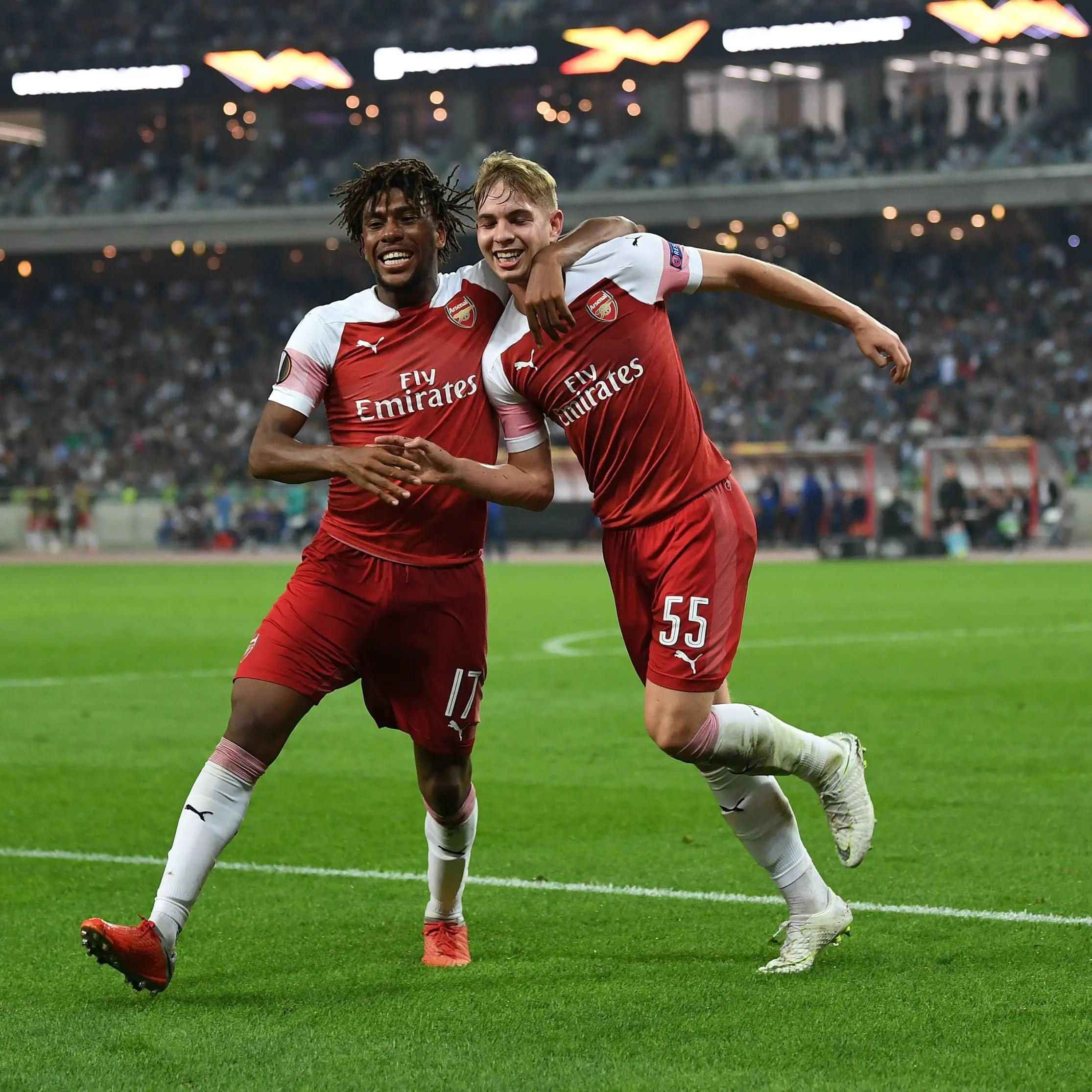Iwobi Relishes Arsenal Win, Goal Assist Vs Qarabag