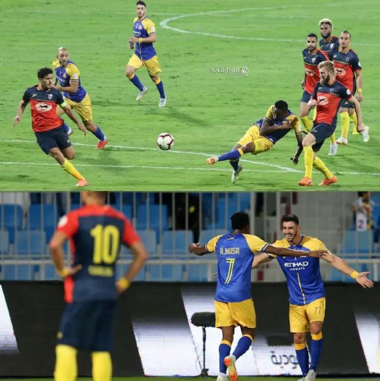 Roundup: Musa Fires Libya Warning, Hits Goal No.5 In Saudi Arabia; Eduok Hits Brace; Igbonu, Osimhen Also On Target