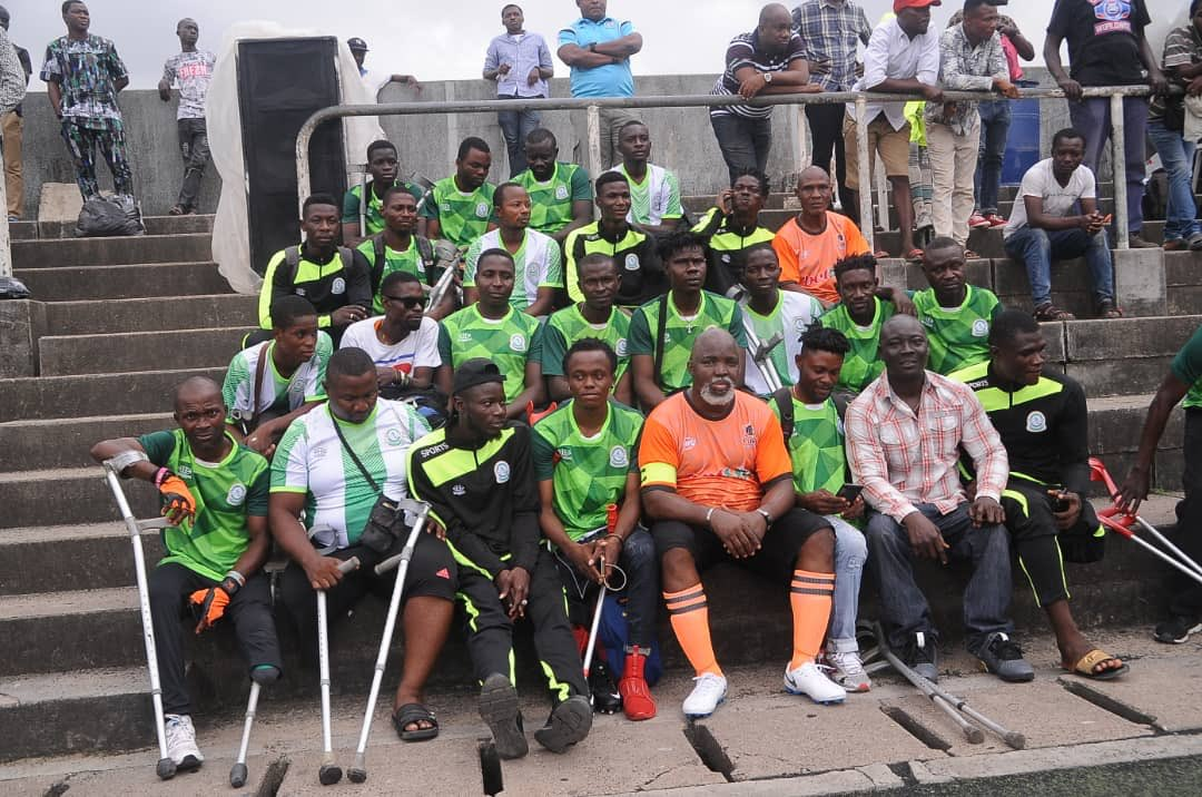 Super Eagles Donate N6m To Nigerian Amputee Football Team