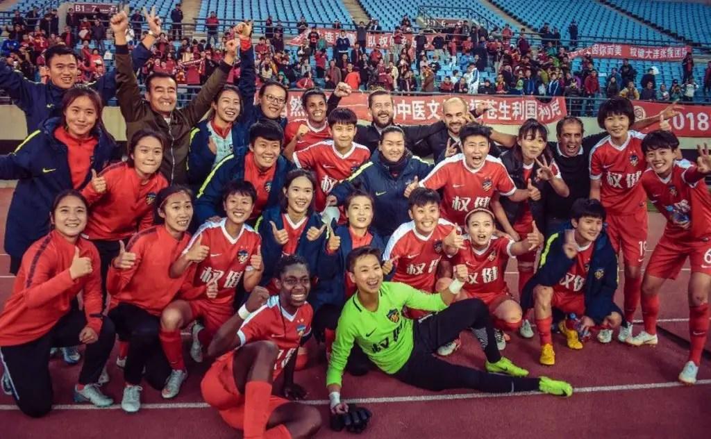 Oshoala Wins Second Chinese Women's League Title With Dalian Quanjian