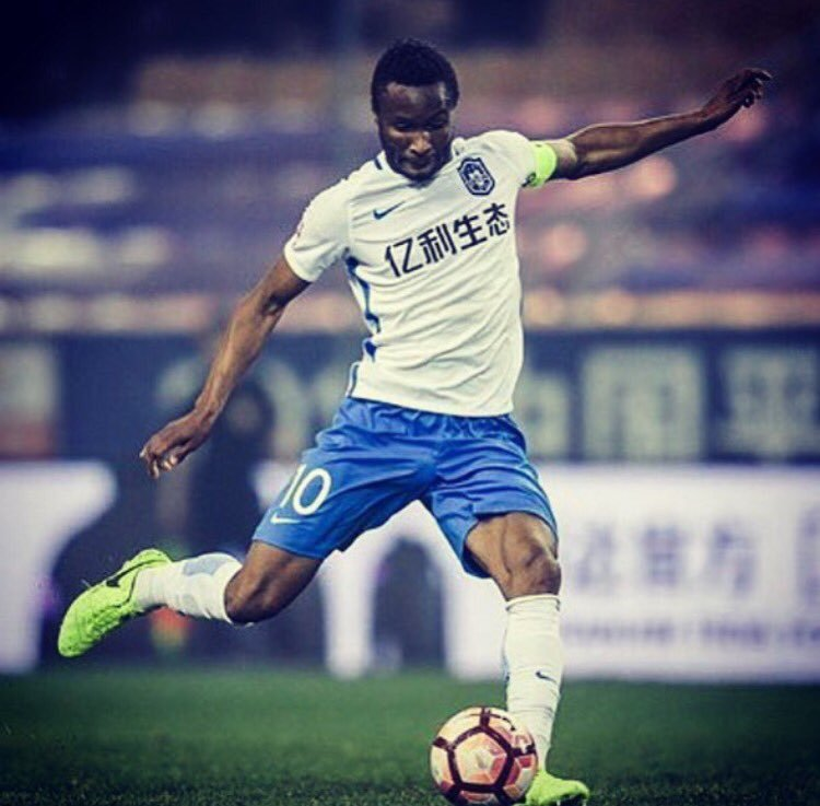 Mikel Scores in Tianjin TEDA Home Defeat To Shanghai Shenhua