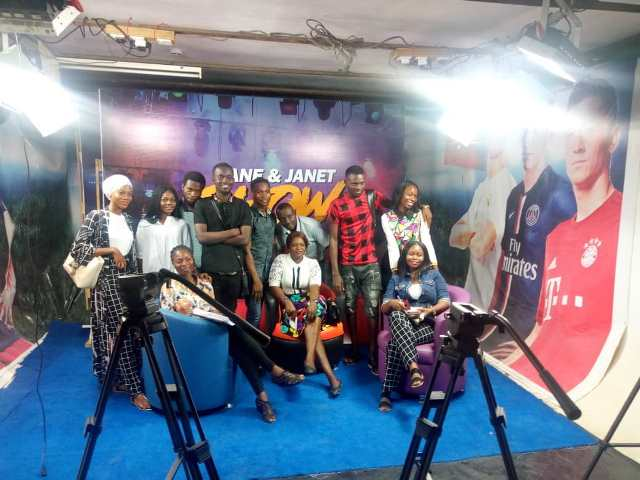 Mass Communication Students Of Lagos State Polytechnic Visit Complete Sports