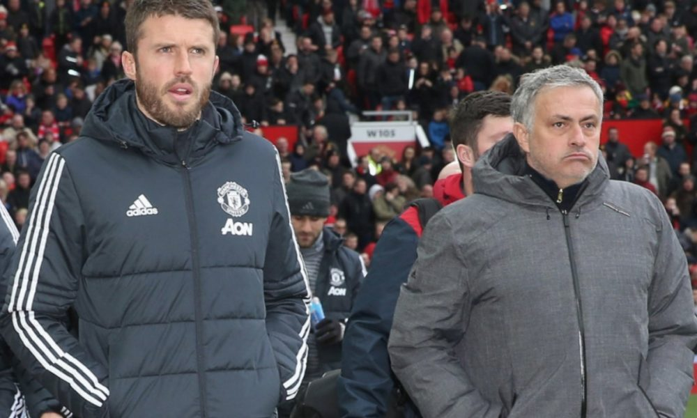 Carrick To Critics: Man United Players Trying, I Support Mourinho