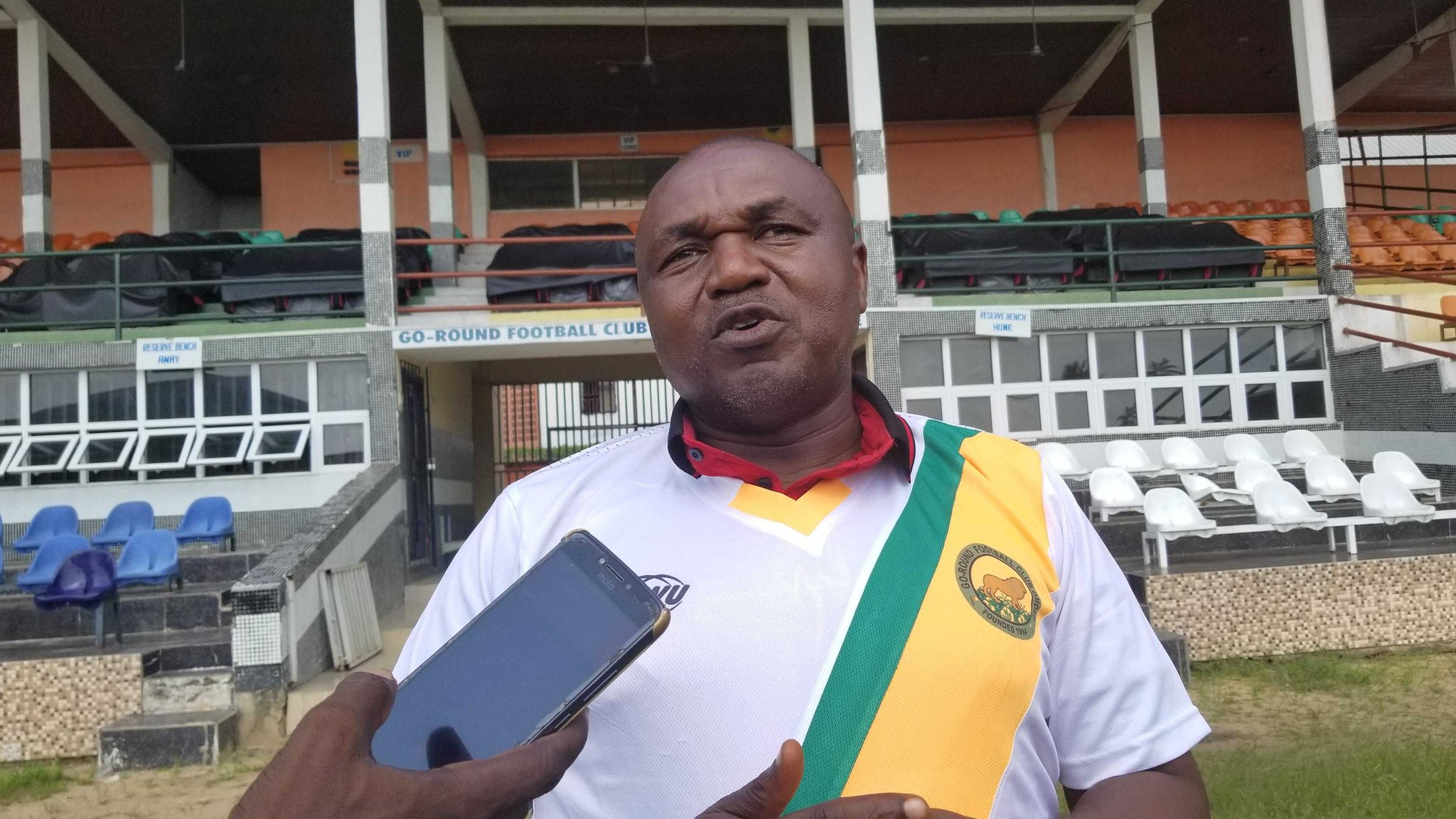 Udube Assumes Duties As Go Round Technical Adviser
