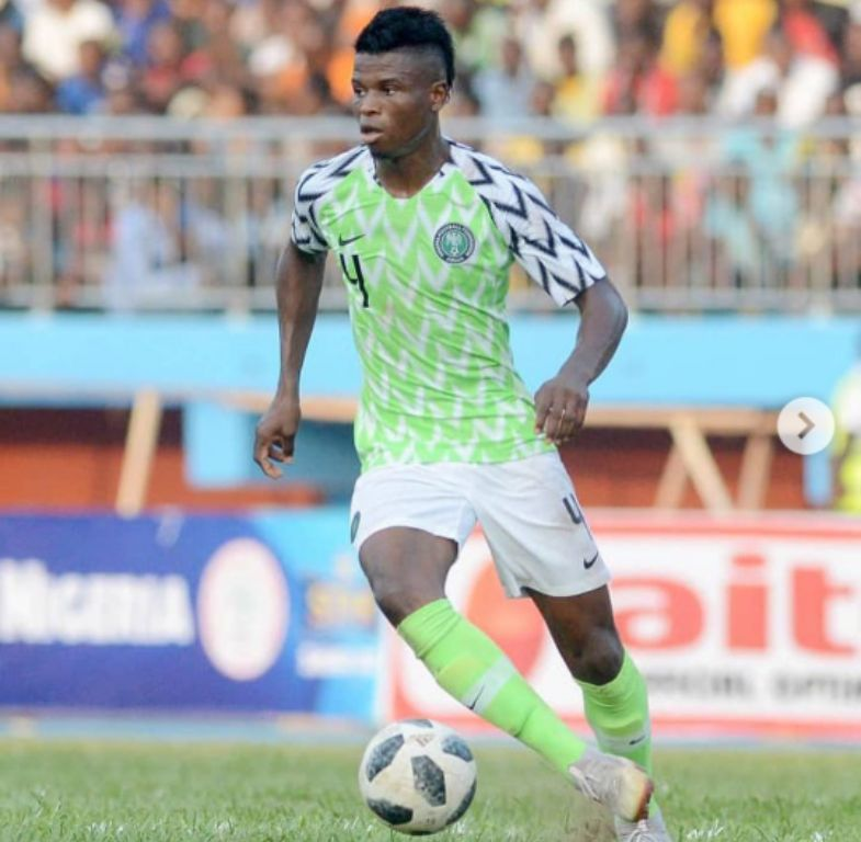 Agu Relishes Appearance For Super Eagles Against Uganda Cranes