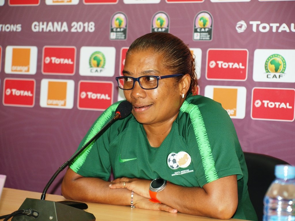 AWCON 2018 Final: South Africa Coach Ellis Eager To Beat Nigeria Again