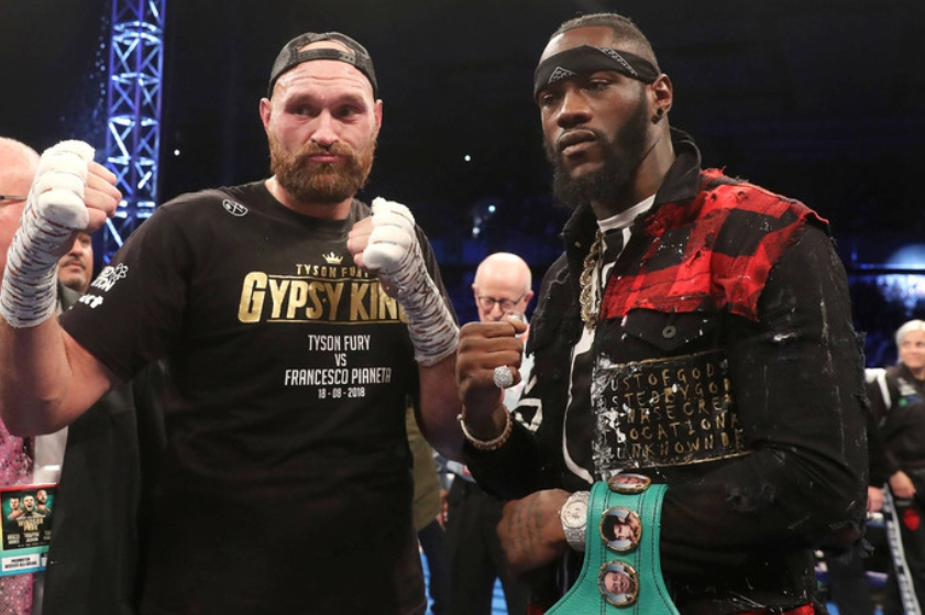 Wilder Vs Fury Heavyweight Thriller To Be Aired Live on DStv