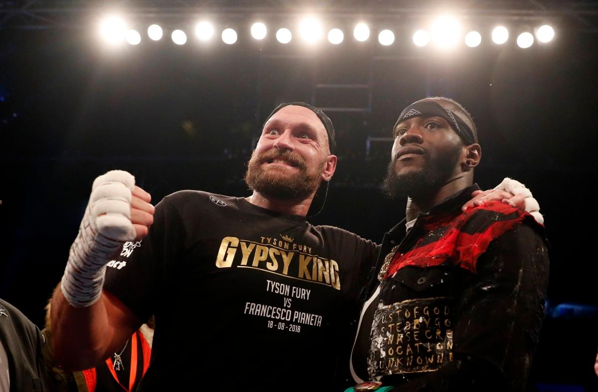 Fury Has No Doubts Ahead Of Wilder Bout