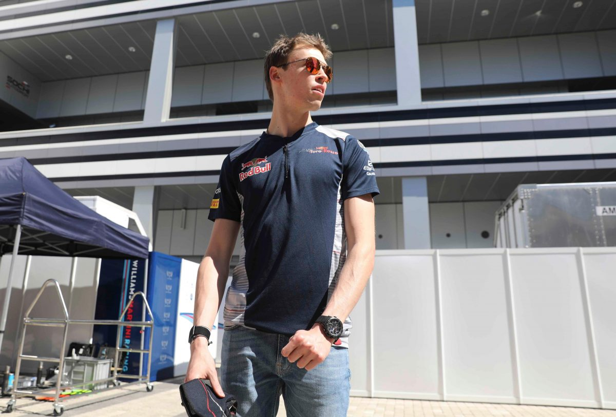 Tost Encouraged By Kvyat Showing
