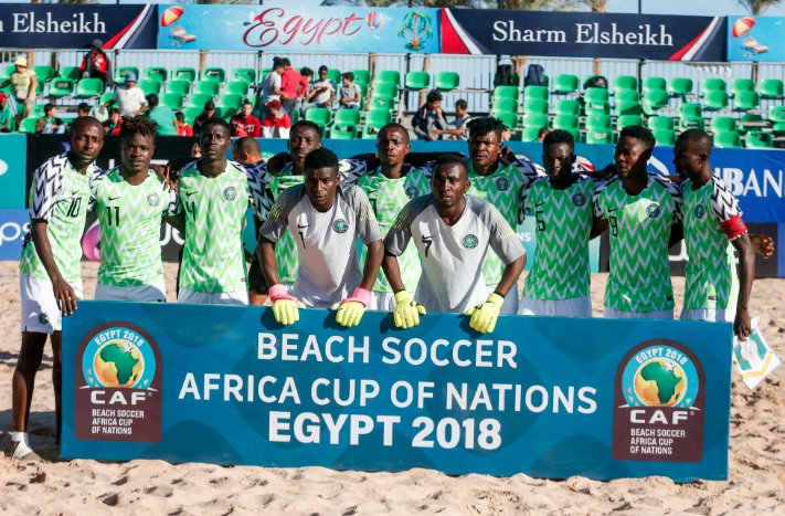 Adamu: World Cup Ticket Done, Sand Eagles Also Want Beach AFCON Title