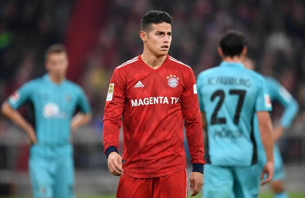 James Fully Focused On Bayern